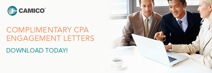 Complimentary CPA Engagement Letters from CAMICO